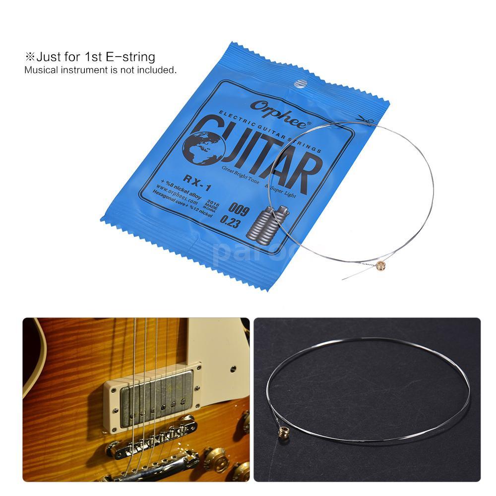 Satz E-Gitarre String Set Nickel Legierung String Super  Y5P3 Orphee 6 Stuecke